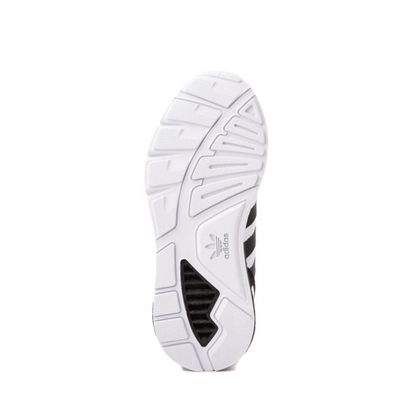 alternate view adidas ZX 1K Boost Athletic Shoe - Big Kid - WhiteALT3