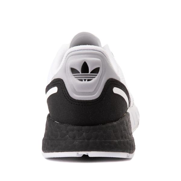 alternate view adidas ZX 1K Boost Athletic Shoe - Big Kid - WhiteALT4
