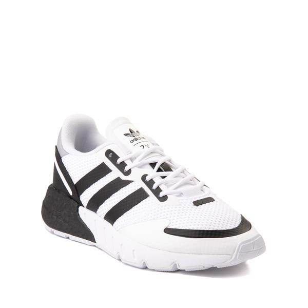 alternate view adidas ZX 1K Boost Athletic Shoe - Big Kid - WhiteALT5