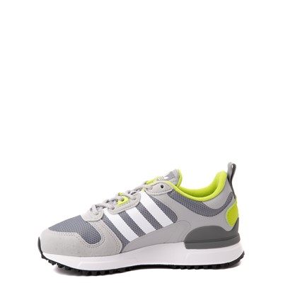 Alternate view of adidas ZX 700 HD Athletic Shoe - Big Kid - Gray / Lime