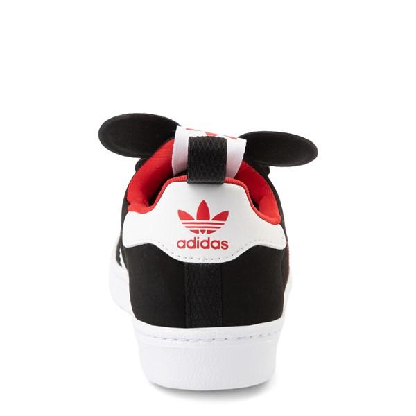 alternate view adidas x Disney Superstar 360 Mickey Mouse Slip On Athletic Shoe - Little Kid / Big Kid - BlackALT4