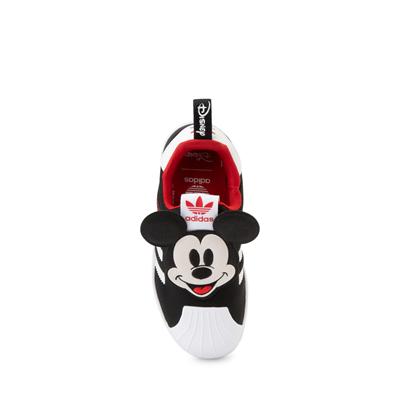 Alternate view of adidas x Disney Superstar 360 Mickey Mouse Slip On Athletic Shoe - Little Kid / Big Kid - Black