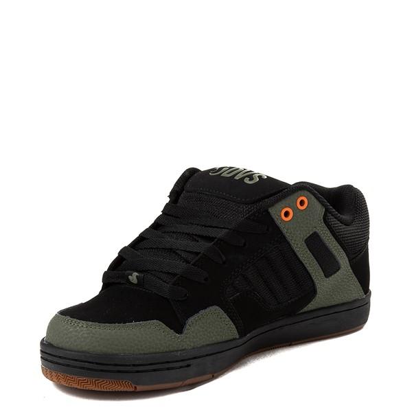 alternate view Mens DVS Enduro 125 Skate Shoe - Black / OliveALT2