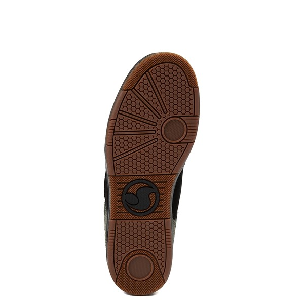 alternate view Mens DVS Enduro 125 Skate Shoe - Black / OliveALT3