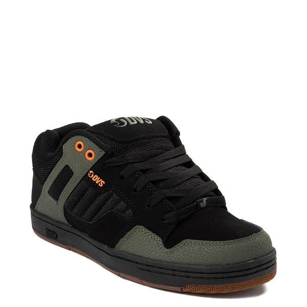 alternate view Mens DVS Enduro 125 Skate Shoe - Black / OliveALT5