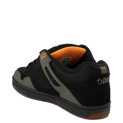 Alternate view of Mens DVS Enduro 125 Skate Shoe - Black / Olive