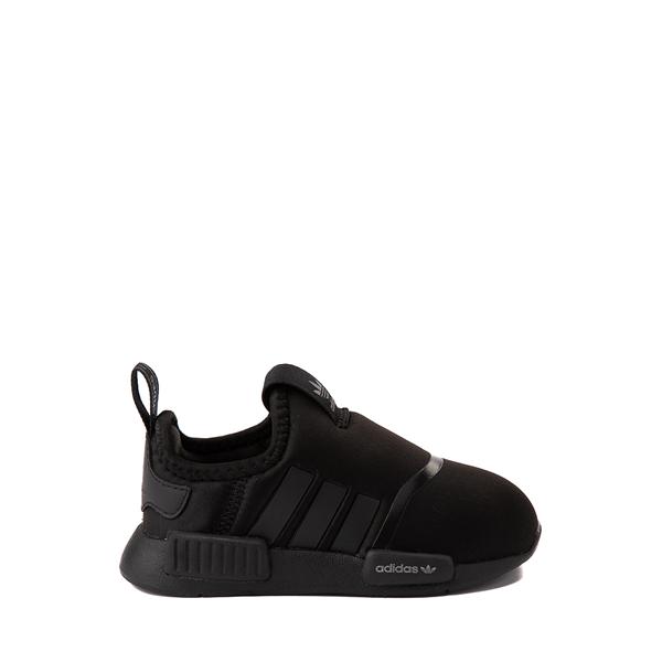 adidas NMD 360 Slip On Athletic Shoe - Baby / Toddler - Black Monochrome