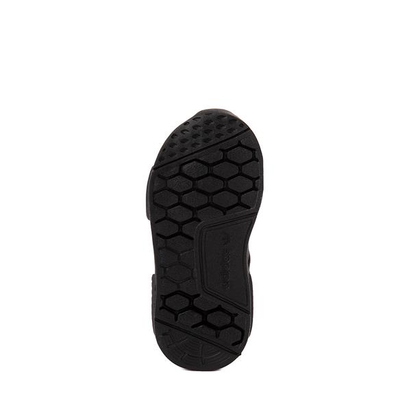 alternate view adidas NMD 360 Slip On Athletic Shoe - Baby / Toddler - Black MonochromeALT3