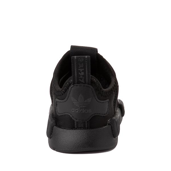 alternate view adidas NMD 360 Slip On Athletic Shoe - Baby / Toddler - Black MonochromeALT4
