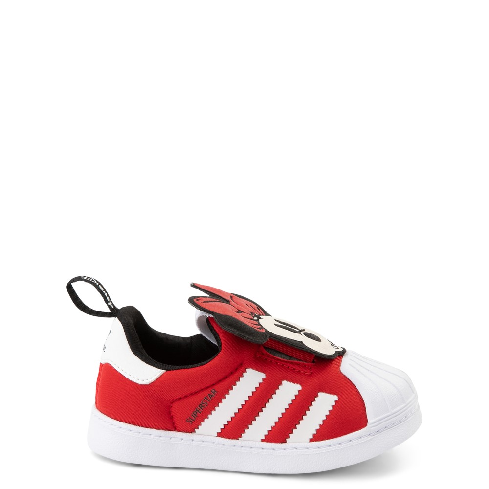 adidas x Disney Superstar 360 Minnie Mouse Slip On Athletic Shoe - Baby / Toddler - Red
