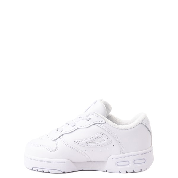 alternate view Fila LNX 100 Athletic Shoe - Baby / Toddler - White MonochromeALT1
