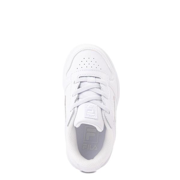 alternate view Fila LNX 100 Athletic Shoe - Baby / Toddler - White MonochromeALT2