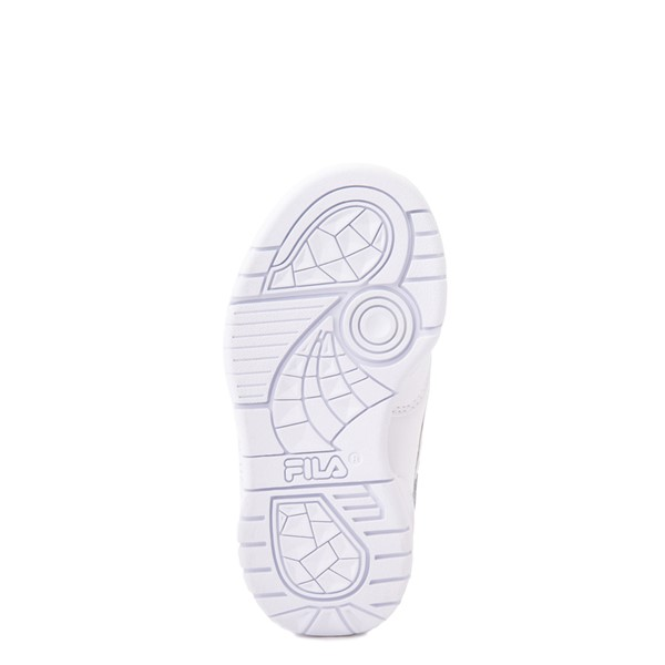 alternate view Fila LNX 100 Athletic Shoe - Baby / Toddler - White MonochromeALT3