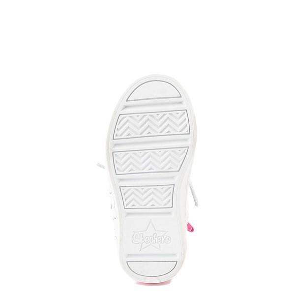 alternate view Skechers Twinkle Toes Twi-Lites Rainbow Cloud Sneaker - Toddler - SilverALT3