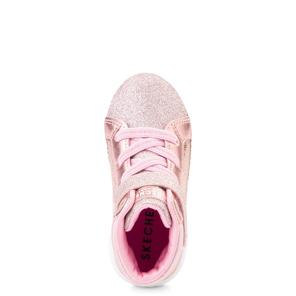 alternate view Skechers Shoutouts Steal The Runway Sneaker - Toddler - Rose GoldALT2