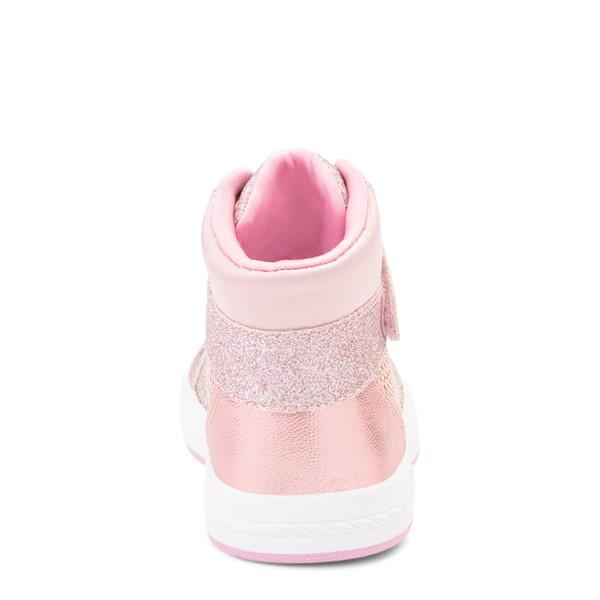 alternate view Skechers Shoutouts Steal The Runway Sneaker - Toddler - Rose GoldALT4