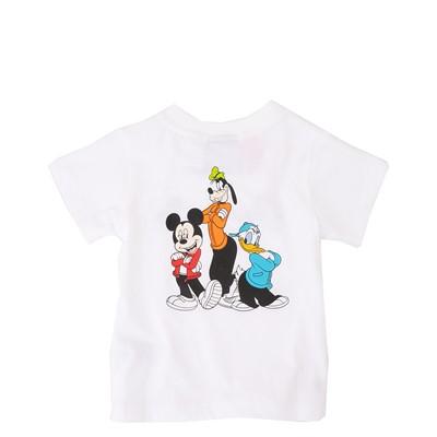 Alternate view of adidas Mickey Mouse Tee - Toddler - White