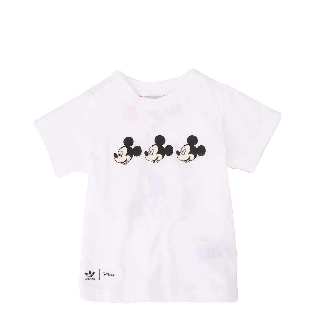 adidas Mickey Mouse Tee - Toddler - White
