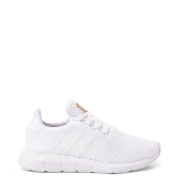 Main view of Womens adidas Swift Run Athletic Shoe - White Monochrome