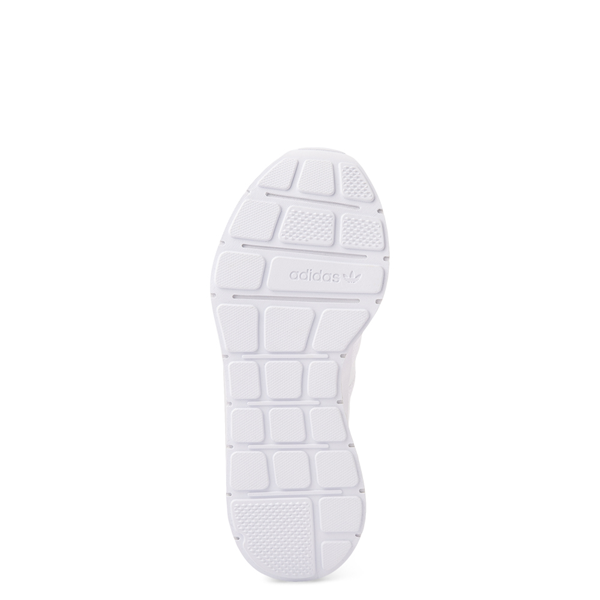 alternate view Womens adidas Swift Run Athletic Shoe - White MonochromeALT3