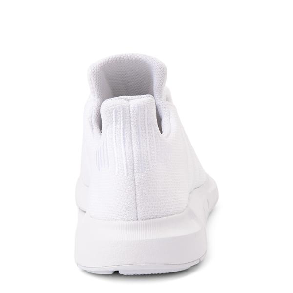 alternate view Womens adidas Swift Run Athletic Shoe - White MonochromeALT4