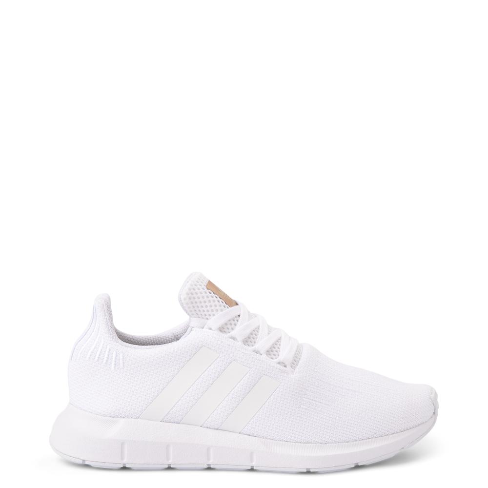 Womens adidas Swift Run Athletic Shoe - White Monochrome