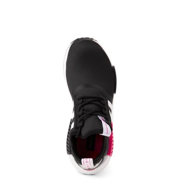 alternate view Womens adidas x Marimekko NMD R1 Athletic Shoe - Black / MagentaALT2