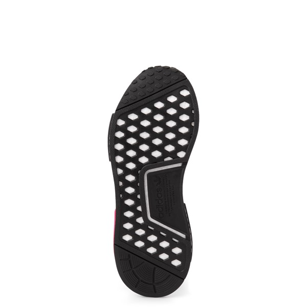alternate view Womens adidas x Marimekko NMD R1 Athletic Shoe - Black / MagentaALT3