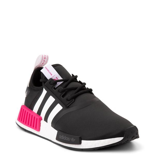 alternate view Womens adidas x Marimekko NMD R1 Athletic Shoe - Black / MagentaALT5