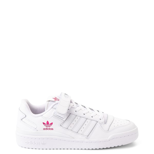 Main view of Womens adidas Forum Low Athletic Shoe - White