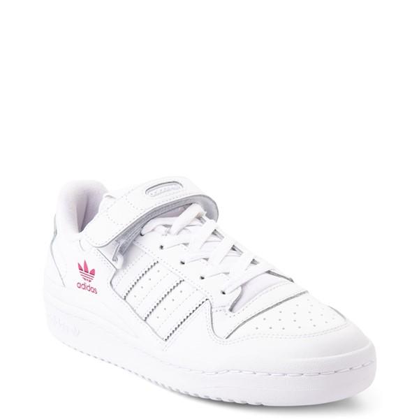 alternate view Womens adidas Forum Low Athletic Shoe - WhiteALT5