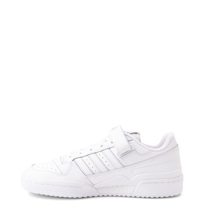 Alternate view of Womens adidas Forum Low Athletic Shoe - White