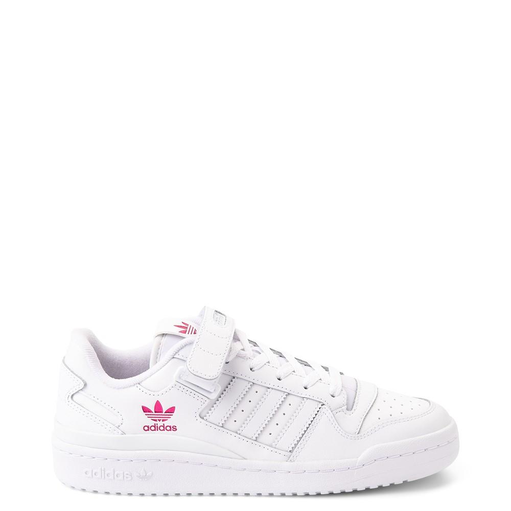 Womens adidas Forum Low Athletic Shoe - White