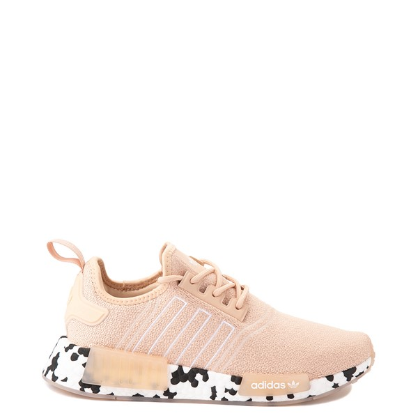 Main view of Womens adidas NMD R1 Speckle Athletic Shoe - Halo Pink