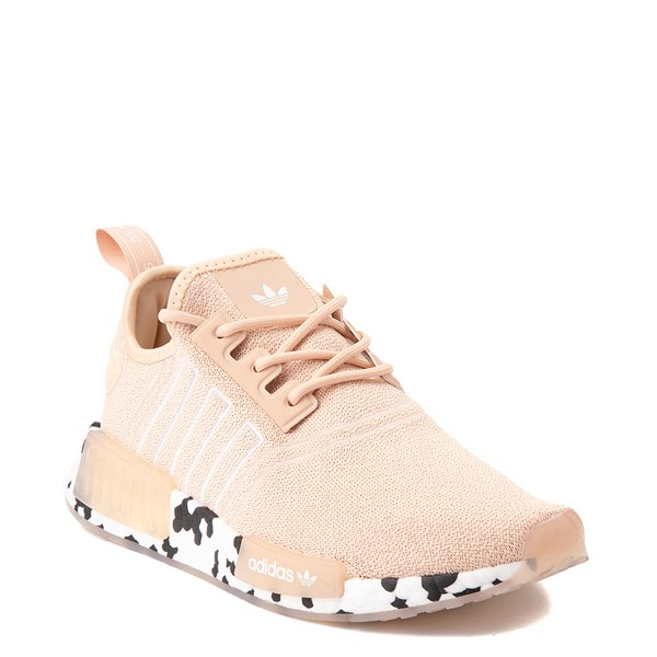 alternate view Womens adidas NMD R1 Speckle Athletic Shoe - Halo PinkALT5