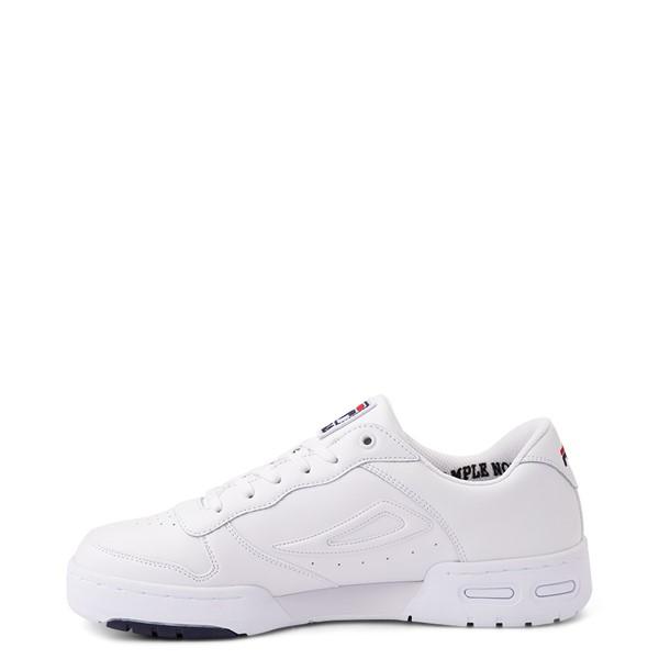 alternate view Mens Fila LNX 100 Athletic Shoe - White / Navy / RedALT1