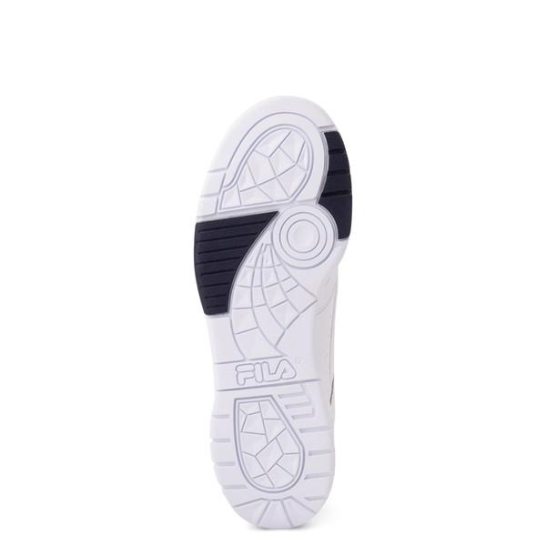 alternate view Mens Fila LNX 100 Athletic Shoe - White / Navy / RedALT3