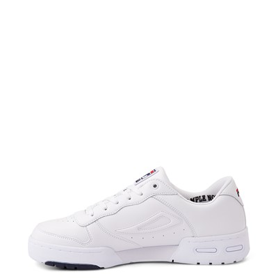 Alternate view of Mens Fila LNX 100 Athletic Shoe - White / Navy / Red