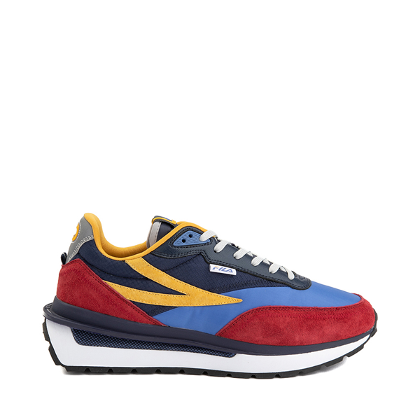 Mens Fila Renno Athletic Shoe - Red / Blue / Yellow