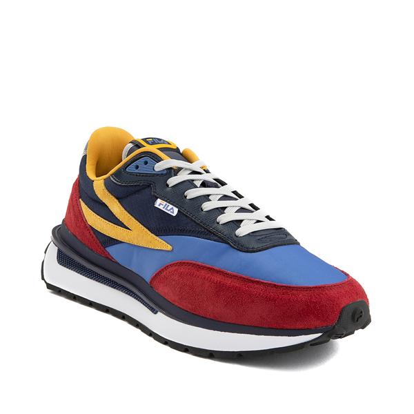 alternate view Mens Fila Renno Athletic Shoe - Red / Blue / YellowALT5