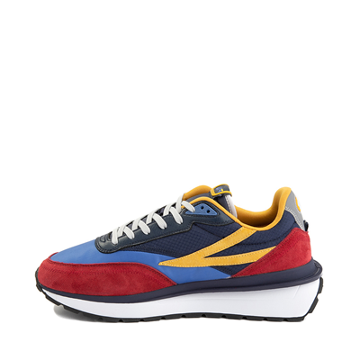 Alternate view of Mens Fila Renno Athletic Shoe - Red / Blue / Yellow