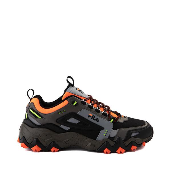 Mens Fila Oakmont TR Athletic Shoe - Olive / Black / Orange