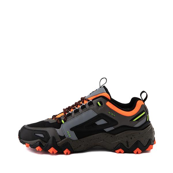 alternate view Mens Fila Oakmont TR Athletic Shoe - Olive / Black / OrangeALT1B