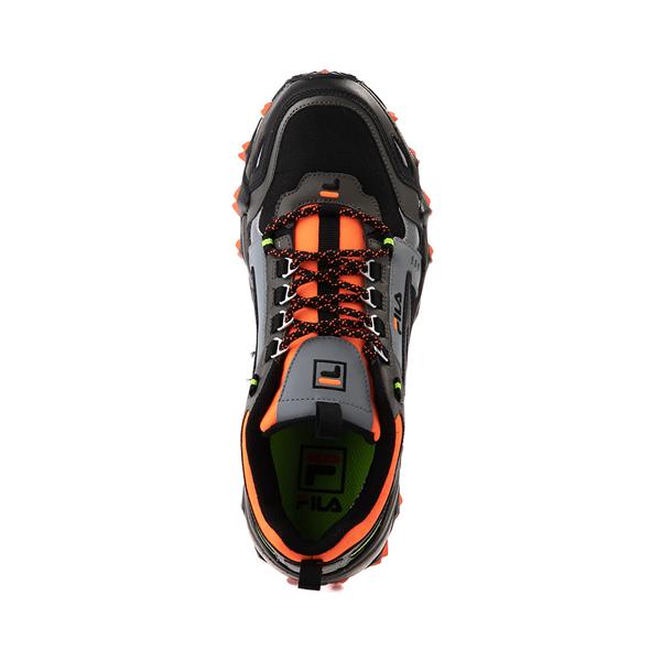 alternate view Mens Fila Oakmont TR Athletic Shoe - Olive / Black / OrangeALT2