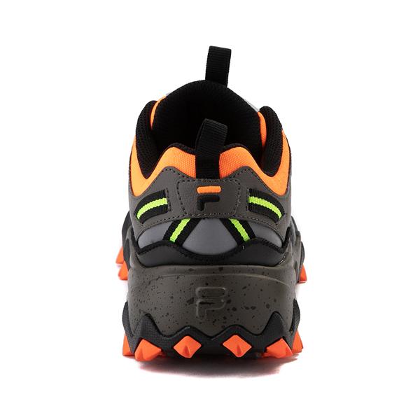 alternate view Mens Fila Oakmont TR Athletic Shoe - Olive / Black / OrangeALT4
