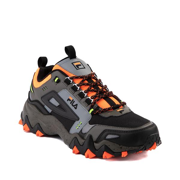 alternate view Mens Fila Oakmont TR Athletic Shoe - Olive / Black / OrangeALT5