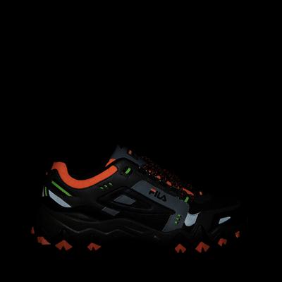 Alternate view of Mens Fila Oakmont TR Athletic Shoe - Olive / Black / Orange