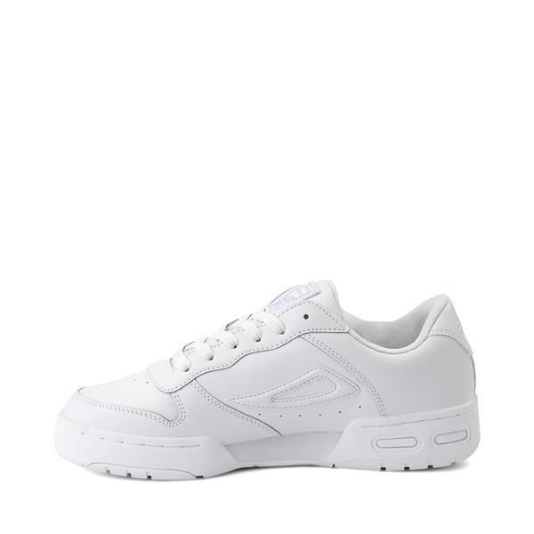 alternate view Womens Fila LNX 100 Athletic Shoe - White MonochromeALT1