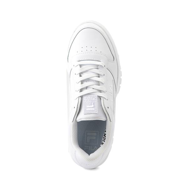 alternate view Womens Fila LNX 100 Athletic Shoe - White MonochromeALT2