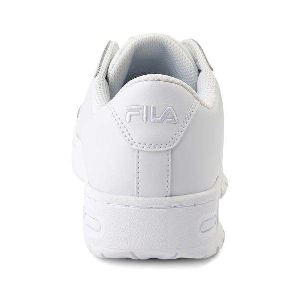 alternate view Womens Fila LNX 100 Athletic Shoe - White MonochromeALT4